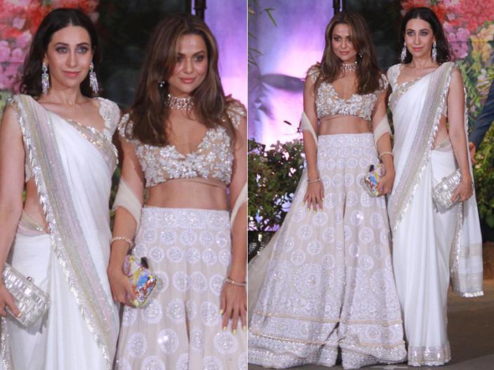 Karisma Kapoor and Amrita Arora |