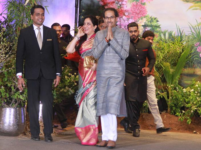Uddhav and Rashmi Thackeray |