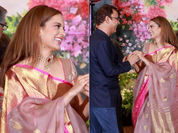 Kangna Sharma and vidhu vinod chopra |