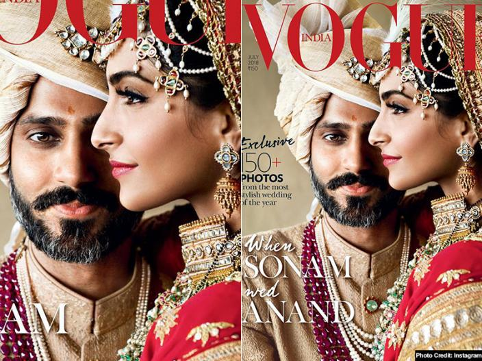 In Pics: Sonam Kapoor-Anand Ahuja wedding becomes the most stylish wedding of the year in Vogue Magazine |