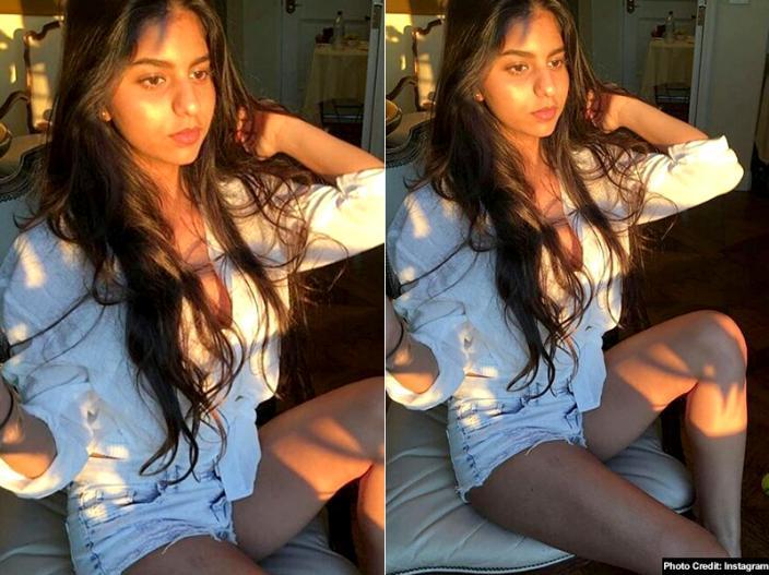 Shah Rukh Khan daughter suhana khan bikini hot and bold images goes viral on social media |