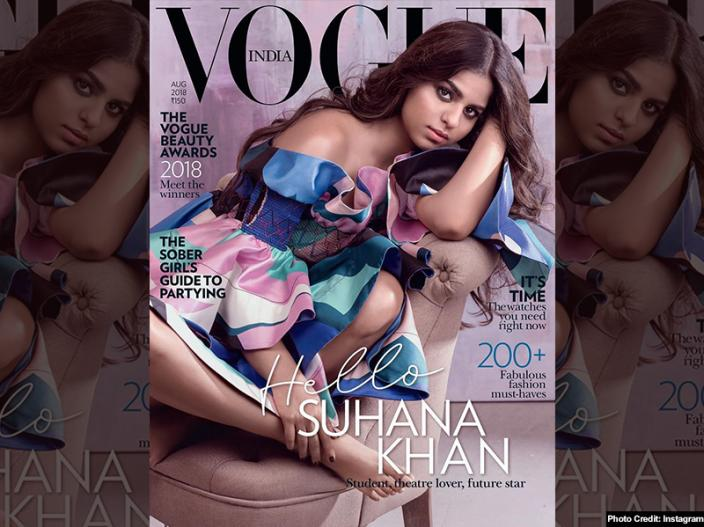 Suhana khan Hot Photoshoot: Shahrukh khan Daughter Suhana Goes Bold for vogue magazine coverpage |