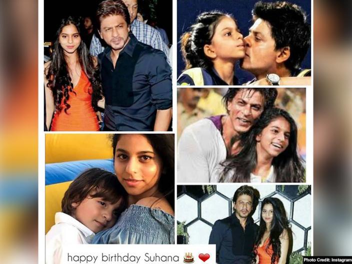 Suhana Khan special bonding with daddy Shah Rukh Khan |