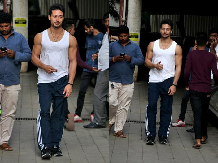 Photos: Student of the Year 2 Actor Tiger Shroff Spotted after Dance Class in Andheri, Mumbai |