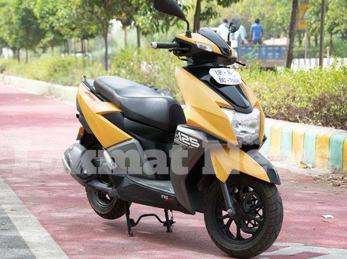 TVS Ntorq 125 Review: see pics of this stylish scooter, features and specification |