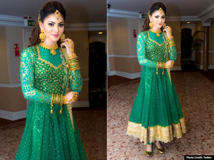 urvashi rautela traditional look goes viral on internet, view pics photos |