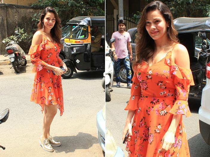 Photos: Salman Khan's New Rumoured Girlfriend Waluscha de Sousa spotted in bandra mumbai |