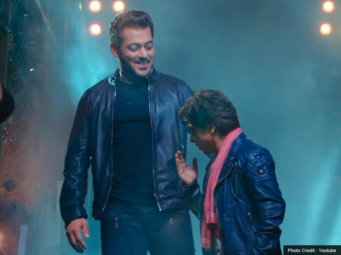Zero Teaser Release: salman khan and shahrukh khan shake hand in teaser, see pics photos hd images |