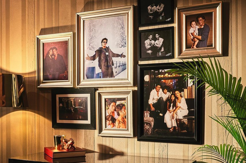 Shah Rukh Khan shared photos of his house |